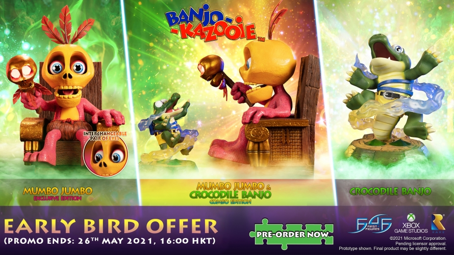 Banjo-Kazooie™ – Mumbo Jumbo Statue Pre-Order FAQs