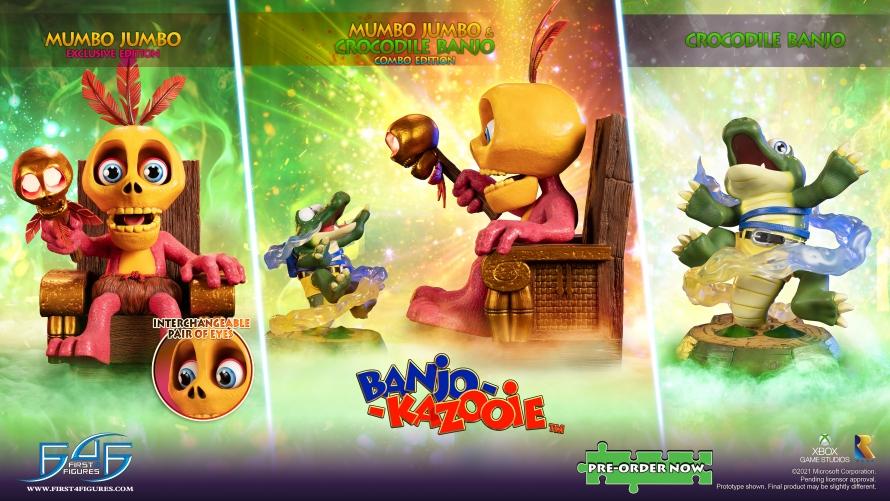 Banjo-Kazooie™ – Mumbo Jumbo Statue Launch