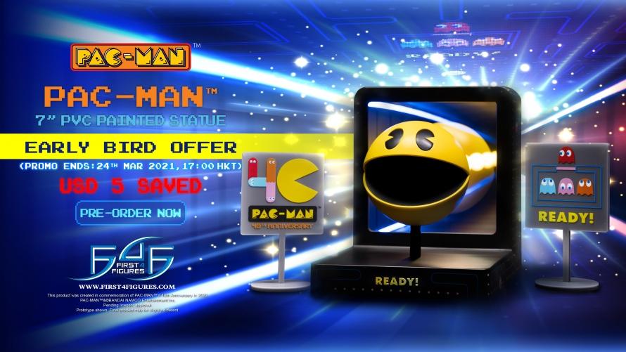 PAC-MAN – PAC-MAN PVC Statue Pre-Order FAQs