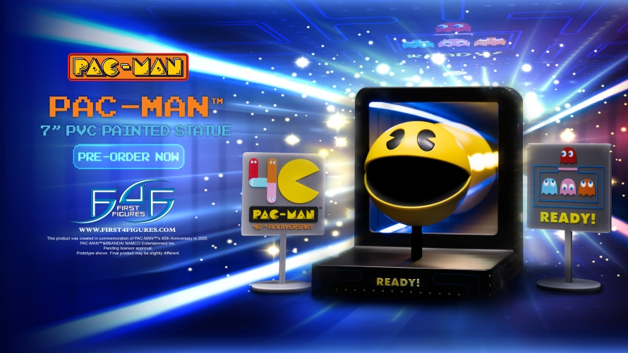PAC-MAN – PAC-MAN PVC Statue Launch