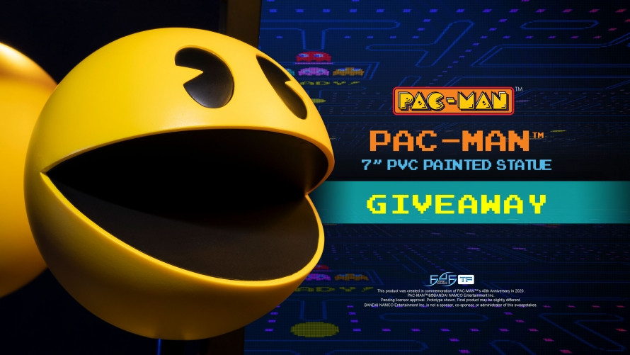 PAC-MAN – PAC-MAN PVC Statue Giveaway