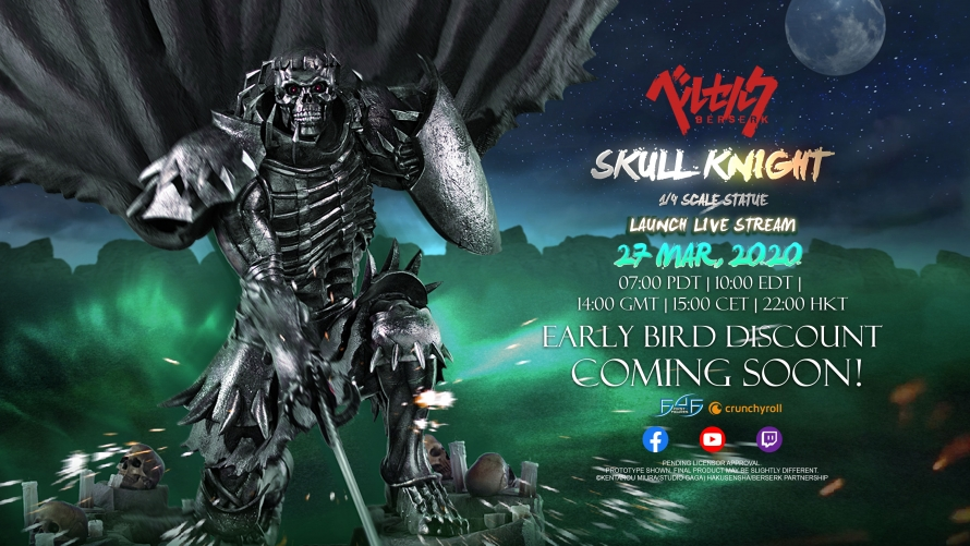 Skull Knight Statue Coming Soon