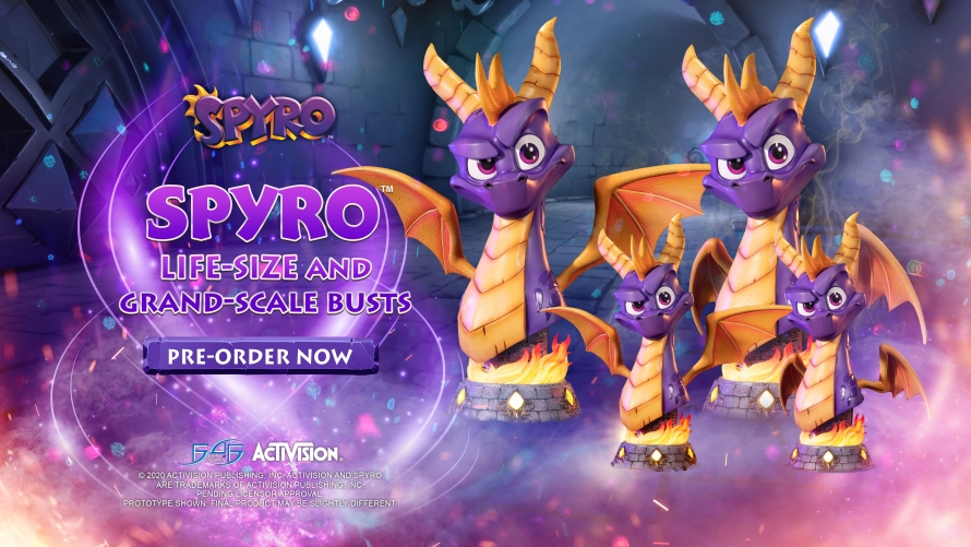 Spyro™ the Dragon – Spyro™ Bust Statue Launch
