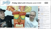 Recap: Friday Q&A with Chocks and A #46 (November 24, 2017)