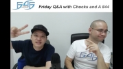 RECAP: FRIDAY Q&A WITH CHOCKS AND A #44 (NOVEMBER 10, 2017)