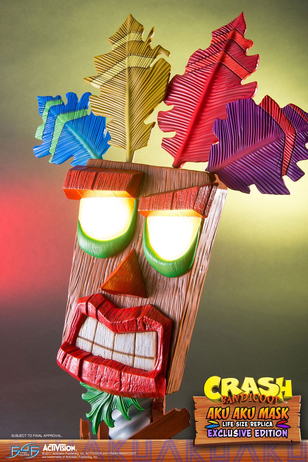 Aku Aku (Exclusive) Mask Close-up