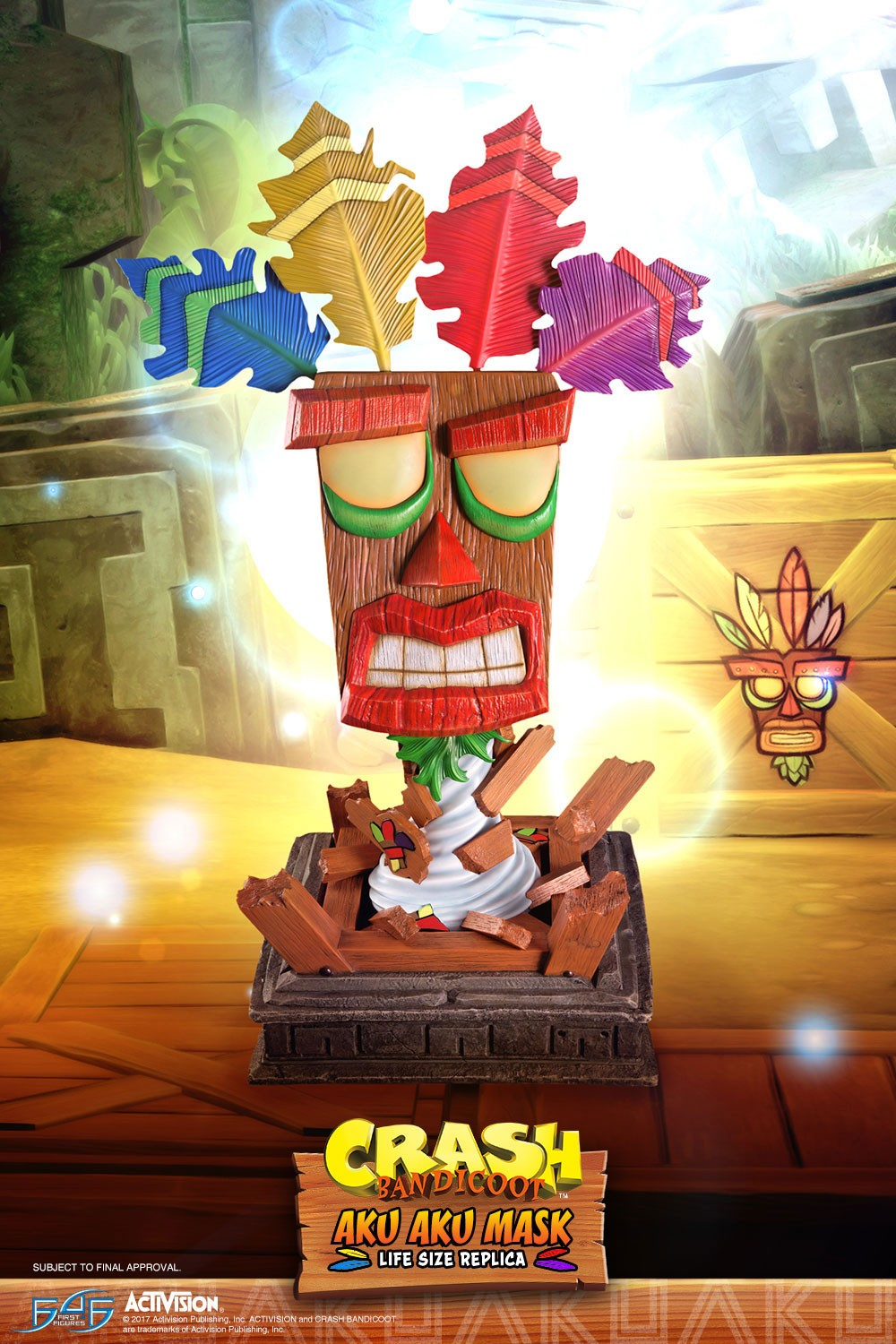 Aku Aku (Regular) Mask Art