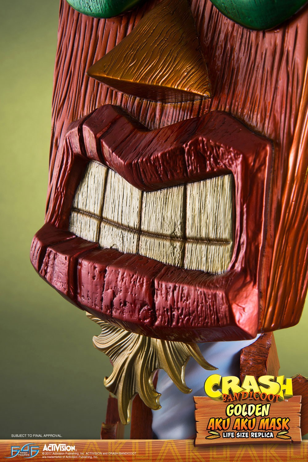 Golden Aku Aku Teeth