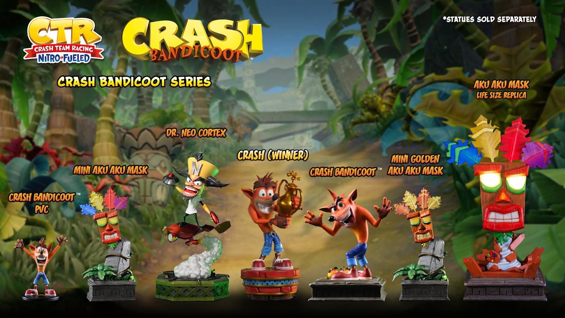 First 4 Figures Crash Bandicoot™ series