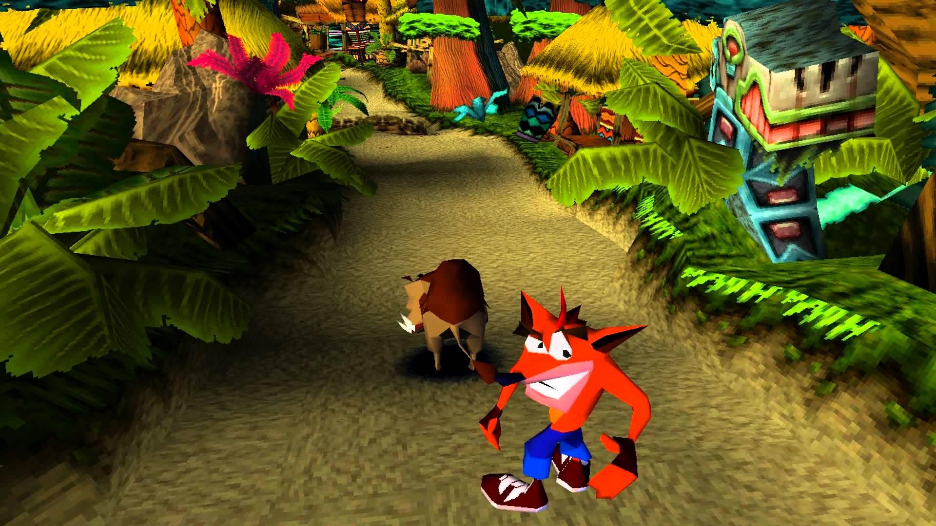 Crazy Crash Bandicoot