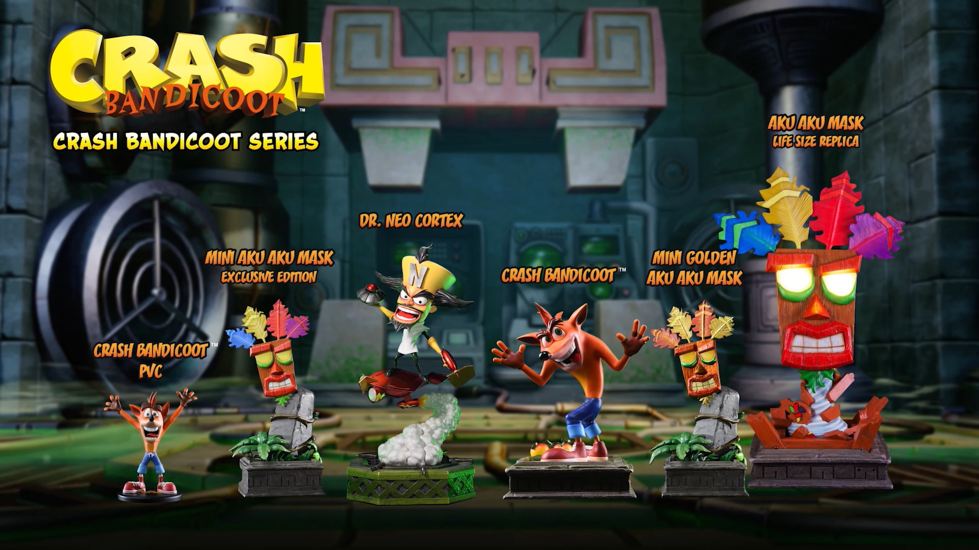 First 4 Figures Crash Bandicoot™ series