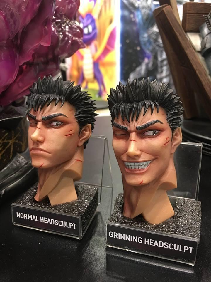 Guts' Alternative Head Sculpts
