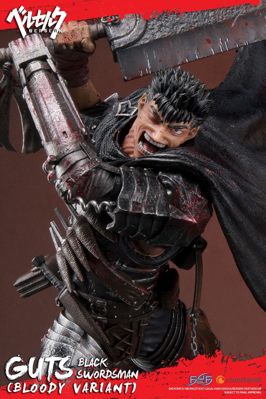 Guts: The Black Swordsman (Regular Bloody Variant)