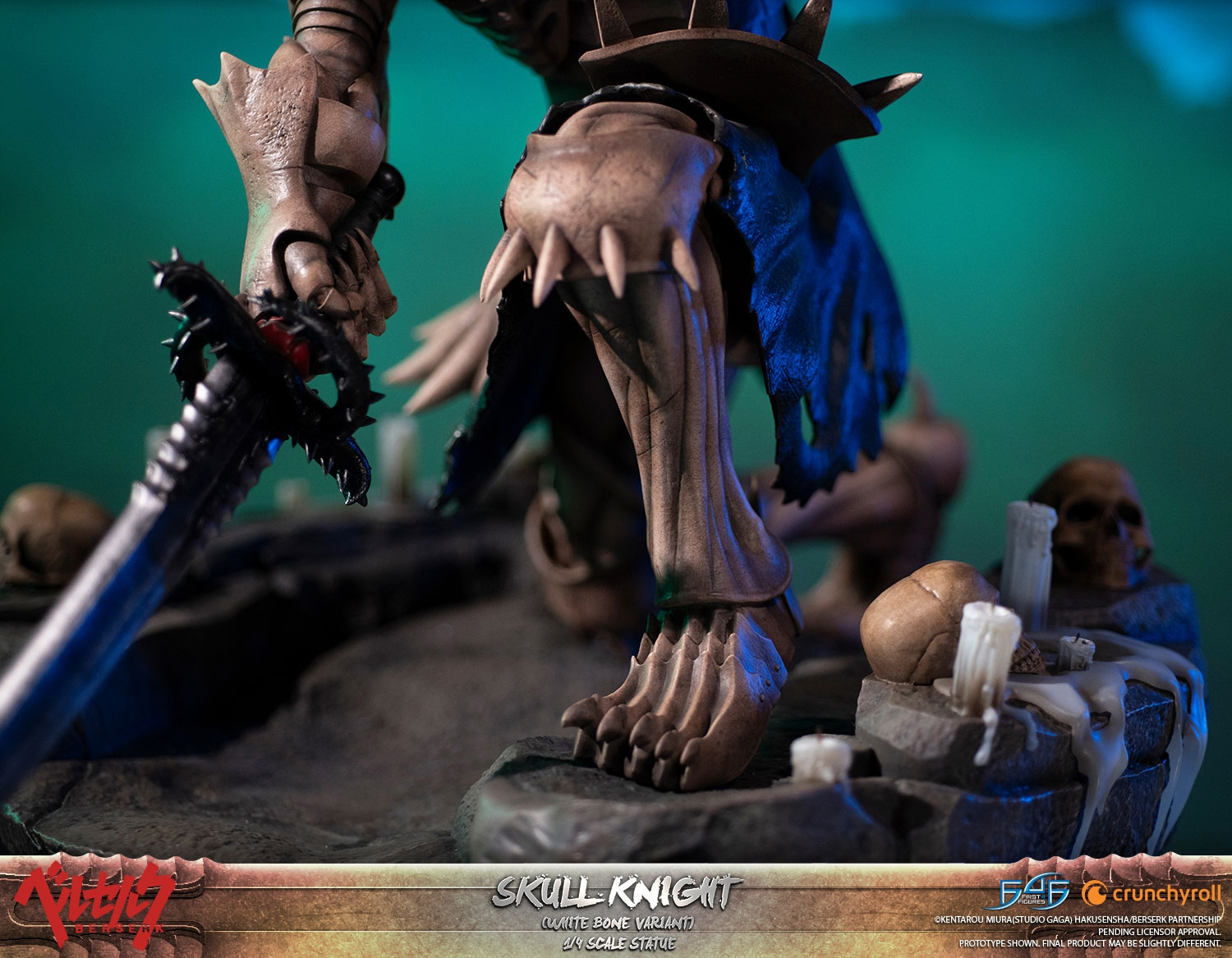 Skull Knight White Bone Variant teaser!