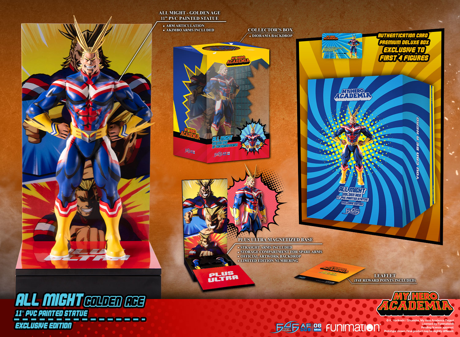 All Might: Golden Age (Exclusive Edition)