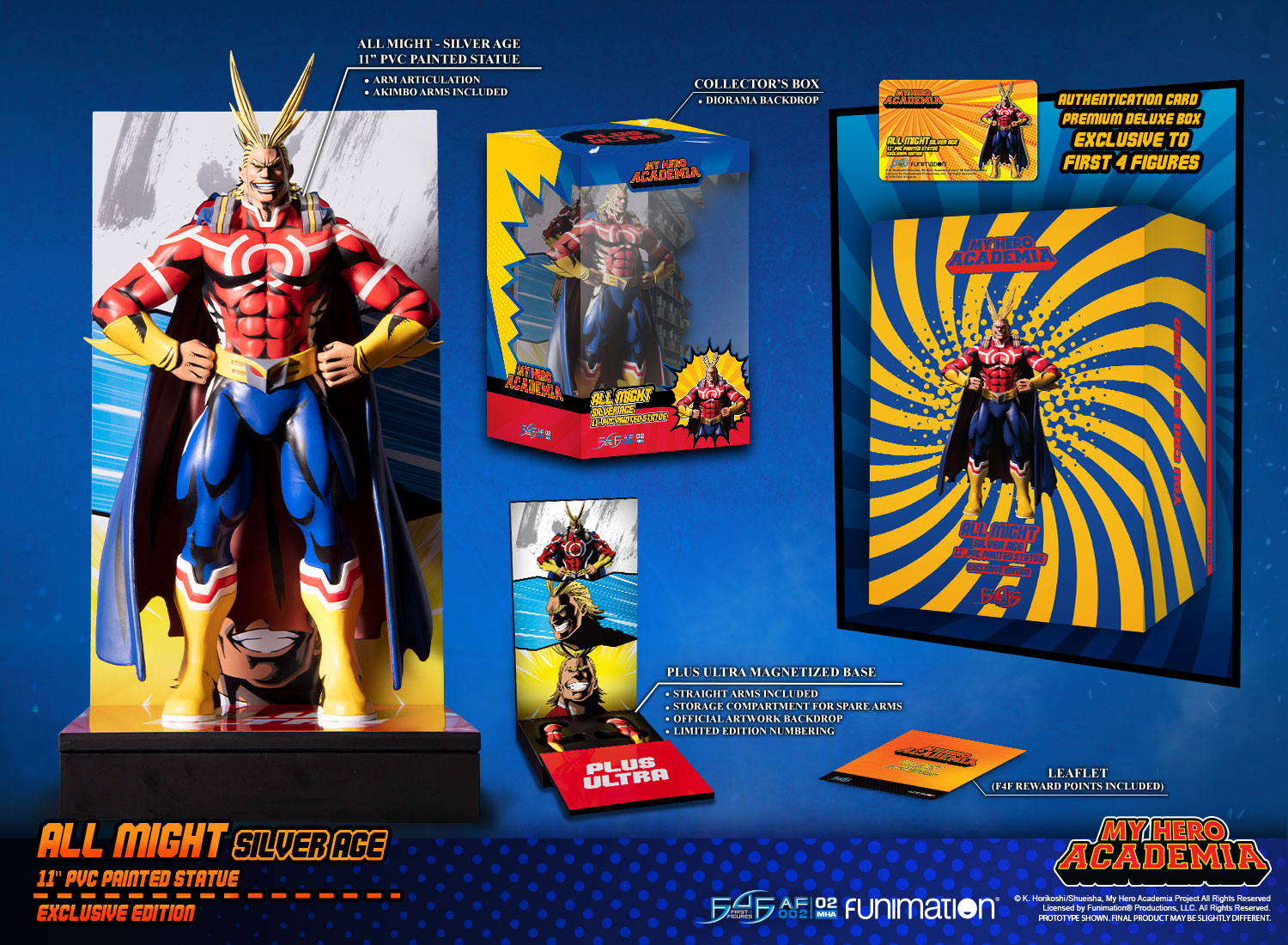All Might: Silver Age (Exclusive Edition)