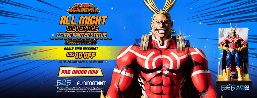 All Might: Silver Age (Exclusive Edition) Early Bird Promotion