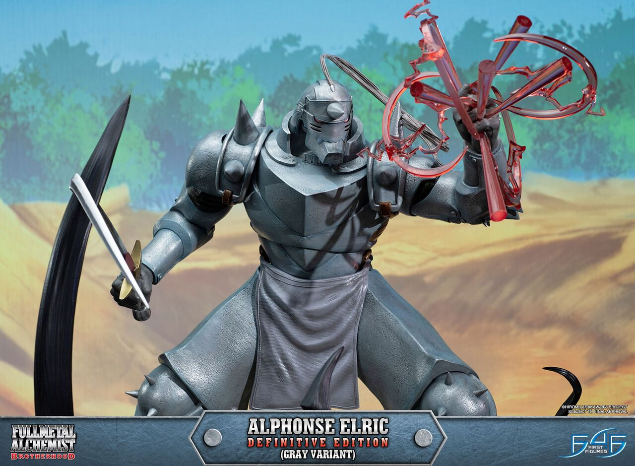 Alphonse Elric Definitive Edition (Gray Variant)