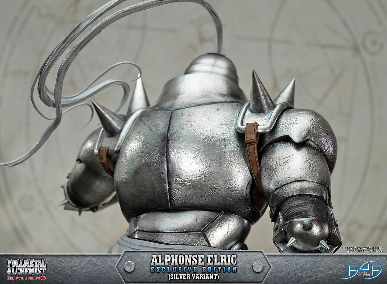 Alphonse Elric Exclusive Edition (Silver Variant)