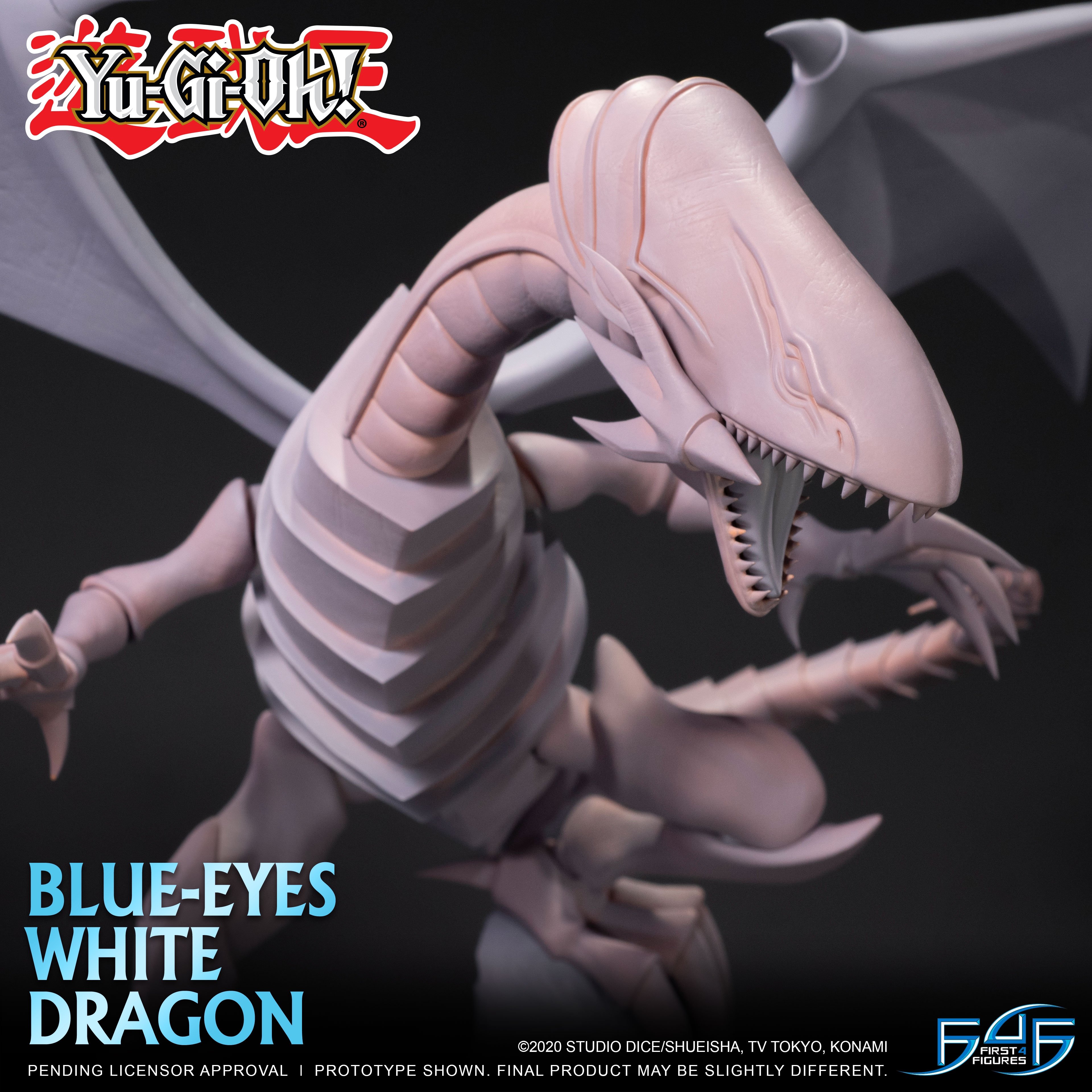 A First Look at First 4 Figures' Yu-Gi-Oh! – Blue-Eyes White Dragon Statue