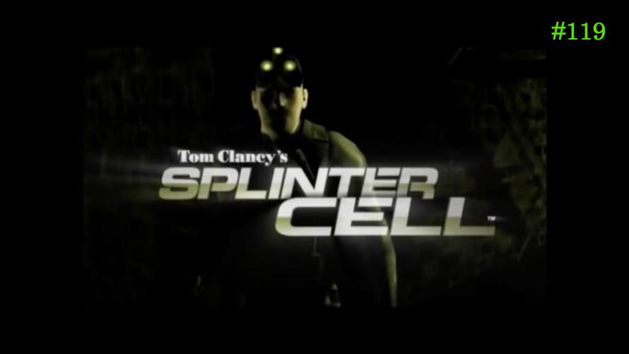 TT Poll #119: Tom Clancy's Splinter Cell