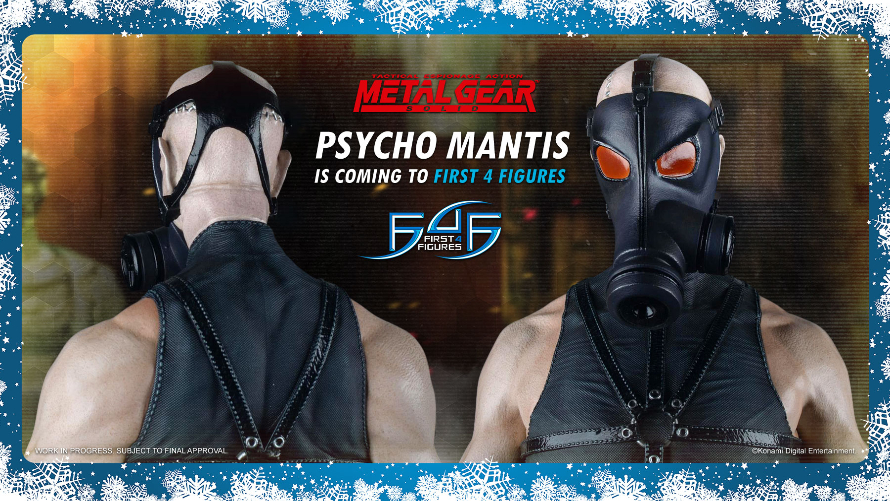 Psycho Mantis Is Coming to First 4 Figures