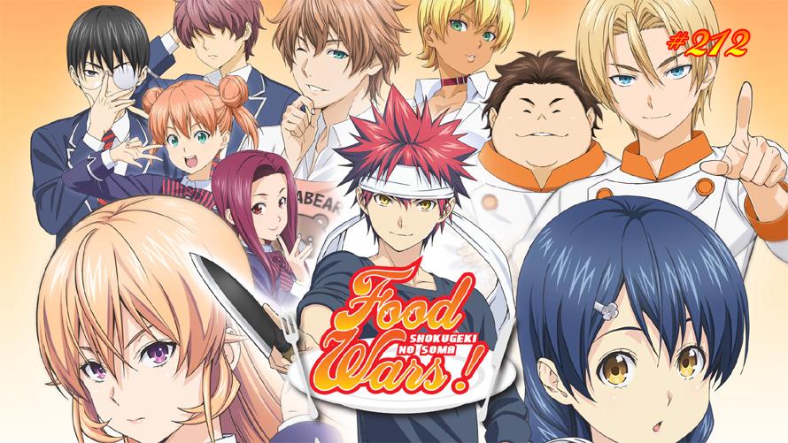 TT Poll #212: Food Wars!: Shokugeki no Soma