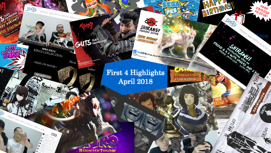 First 4 Highlights – April 2018