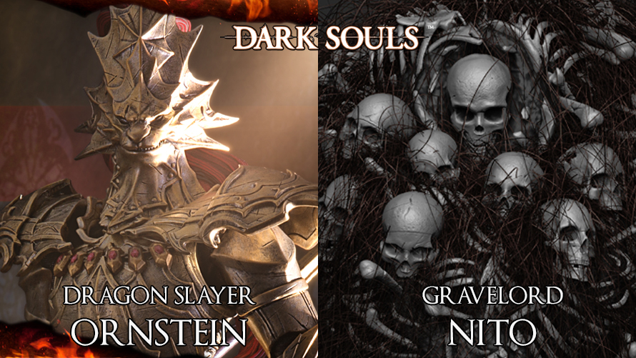 Dark Souls – Gravelord Nito Reveal and Dragon Slayer Ornstein PO Announcement