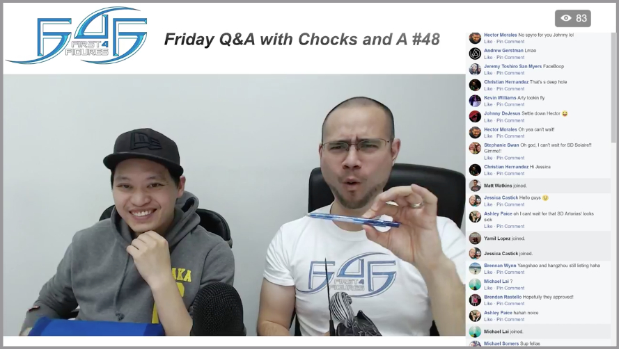 Recap: Friday Q&A with Chocks and A #48 (December 8, 2017)