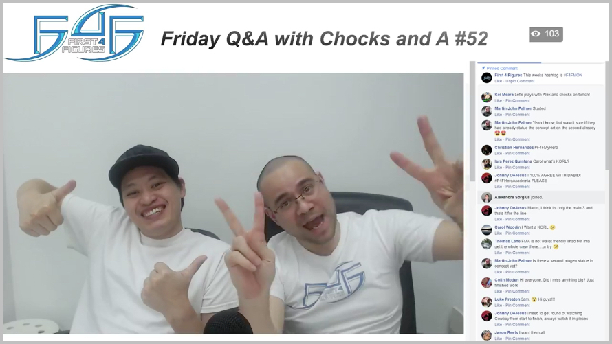 Recap: Friday Q&A with Chocks and A #53 (January 12, 2017)