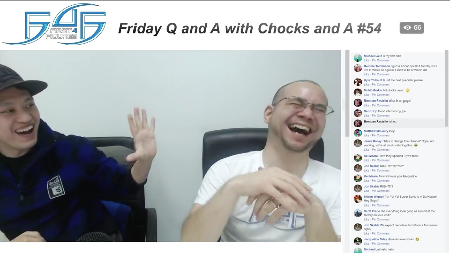 Recap: Friday Q&A with Chocks and A #54 (January 19, 2017)