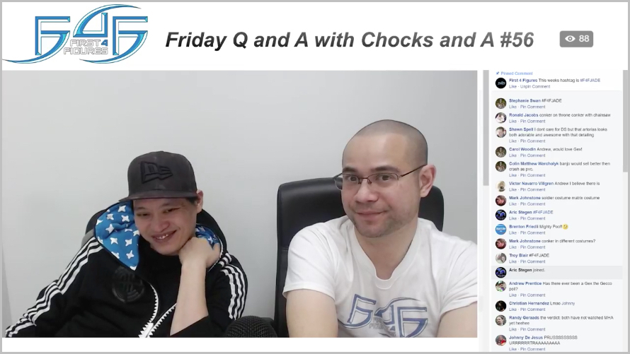 Recap: Friday Q&A with Chocks and A #56 (February 2, 2017)