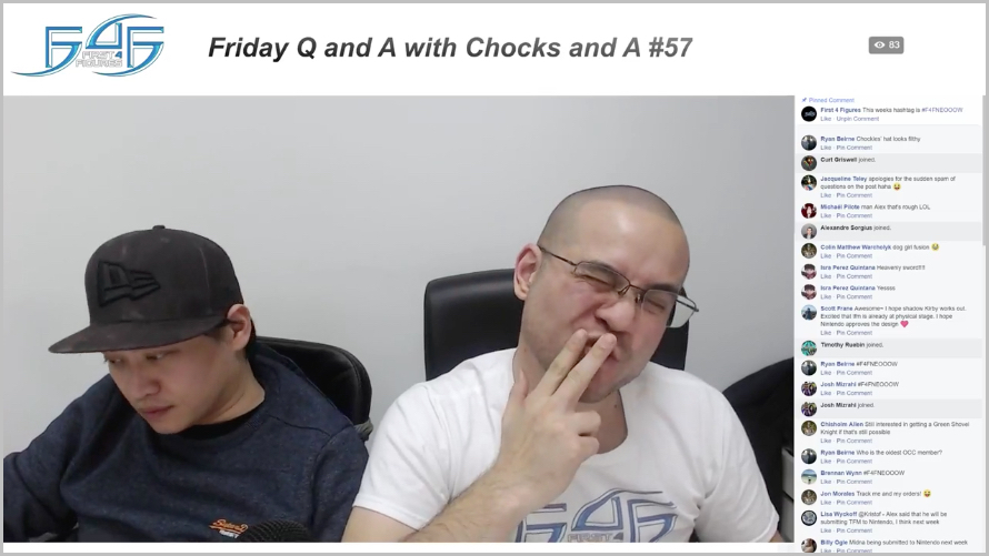 Recap: Friday Q&A with Chocks and A #57 (February 9, 2018)