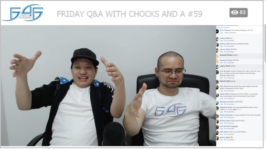 Recap: Friday Q&A with Chocks and A #59 (February 23, 2018)