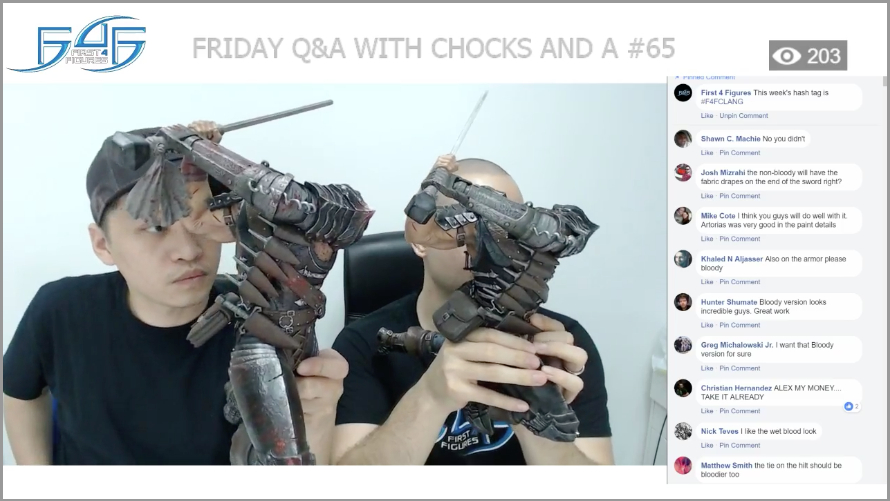 Recap: Friday Q&A with Chocks and A #65 (April 6, 2018)
