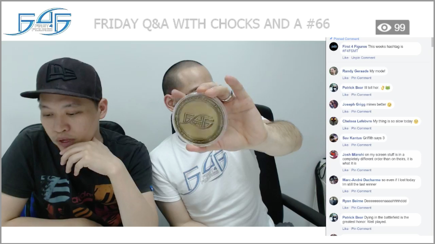 Recap: Friday Q&A with Chocks and A #66 (April 13, 2018)