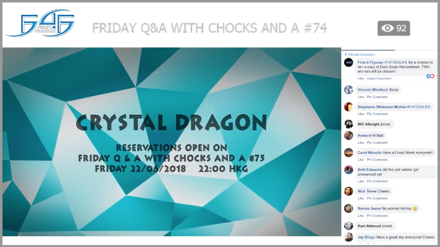 Recap: Friday Q&A with Chocks and A #74 (June 15, 2018)