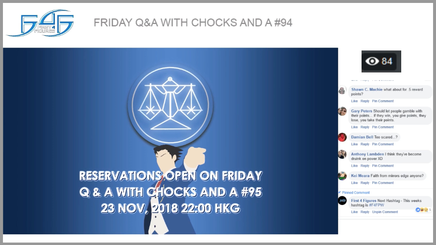 Recap: Friday Q&A with Chocks and A #94 (16 November 2018)