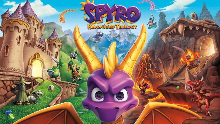 Spyro Reignited Trilogy giveaway