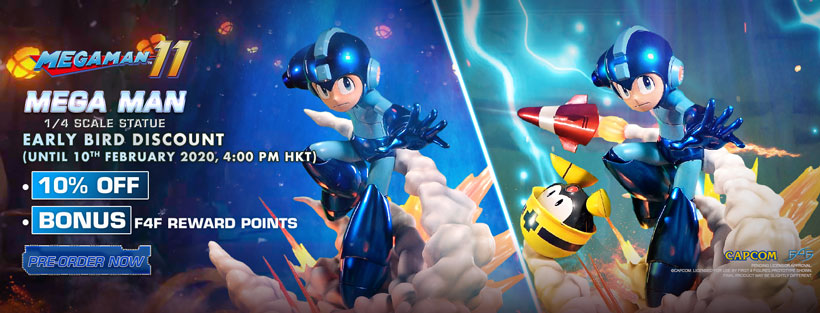 Mega Man Early Bird Promotion
