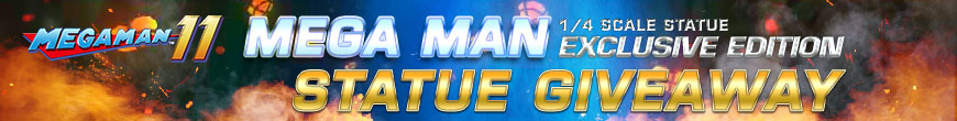 Mega Man (Exclusive Edition) Statue Giveaway