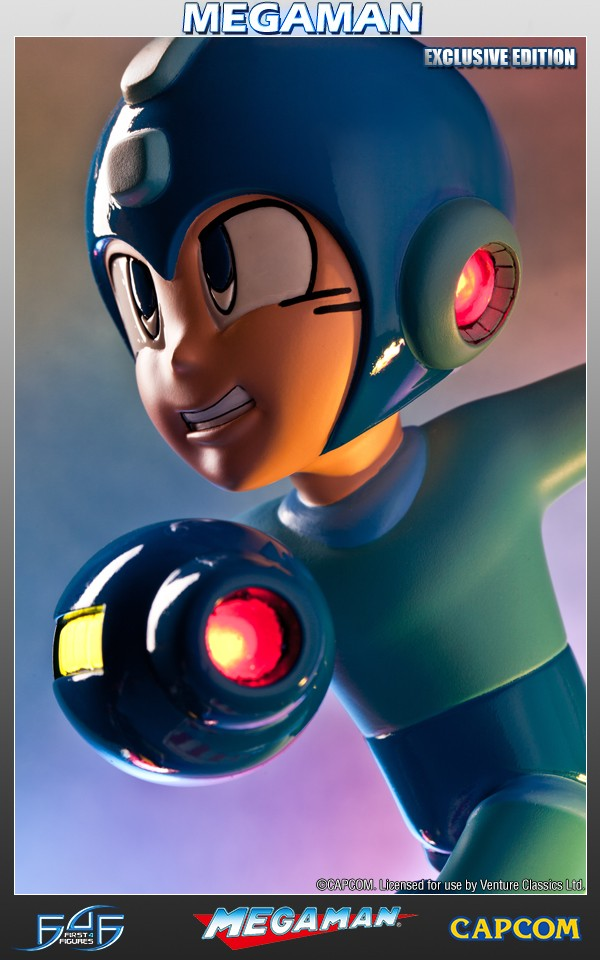 Running Mega Man (Exclusive)