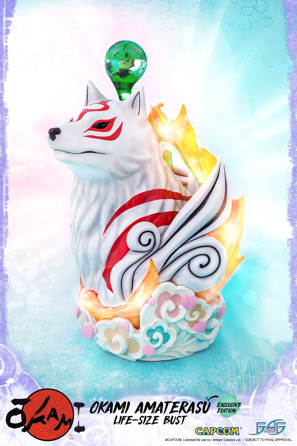 Amaterasu Life-Size Bust (Exclusive)