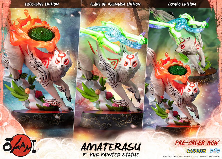 Amaterasu PVC pre-orders NOW OPEN!