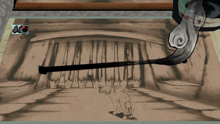 Okami HD Celestial Brush technique