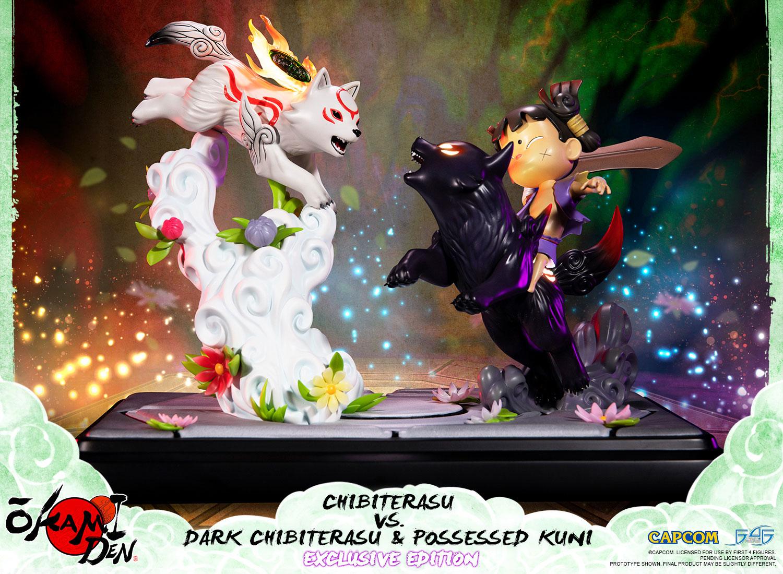 Chibiterasu vs. Dark Chibiterasu & Possessed Kuni (Exclusive Edition)