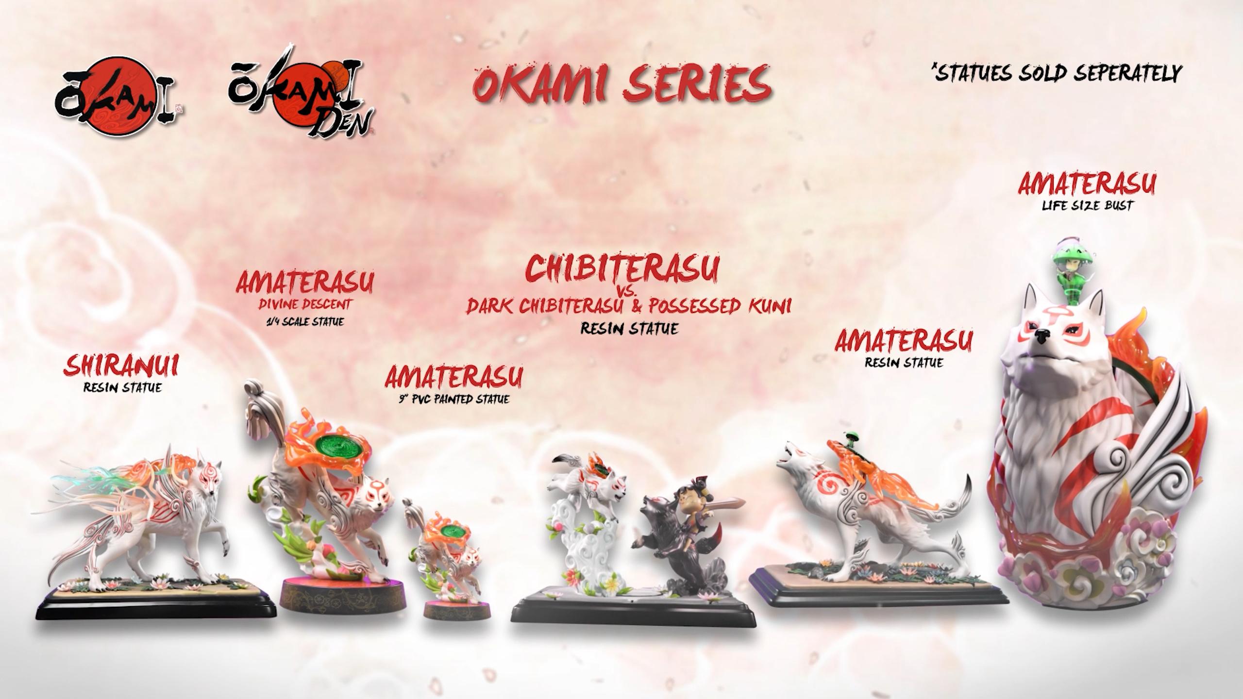 First 4 Figures Okami™ series