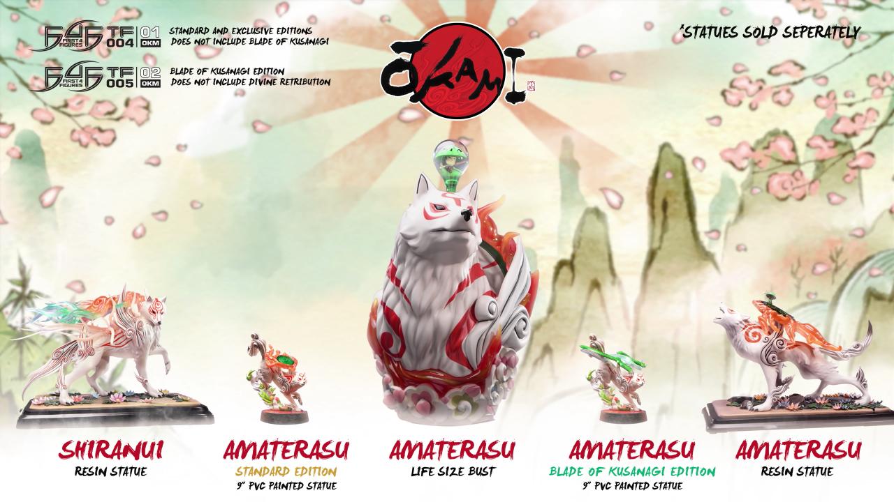 First 4 Figures Ōkami series