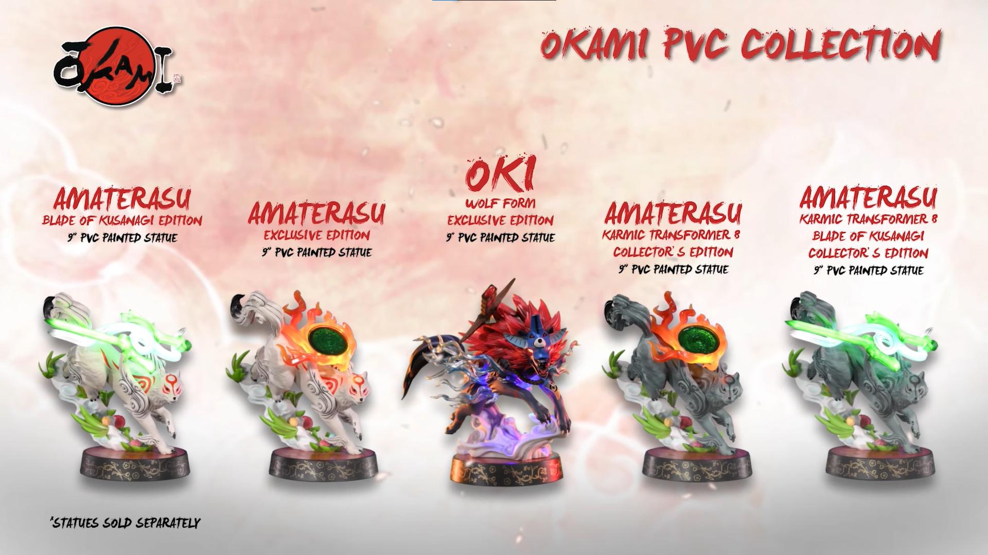 First 4 Figures Okami series